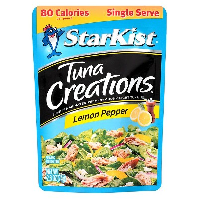 StarKist Tuna Creations Zesty Lemon Pepper Tuna 2.6 oz