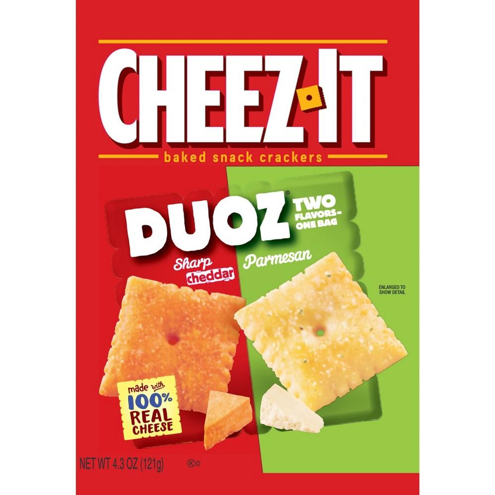 Cheez-It Duoz Sharp Cheddar & Parmesan - 4.3oz
