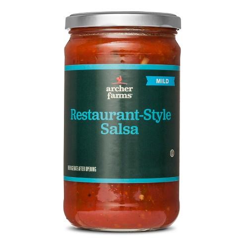 Restaurant-Style Salsa Mild 24oz - Archer Farms™ - image 1 of 1