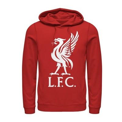 Men's Liverpool Football Club Bird Logo Pull Over Hoodie