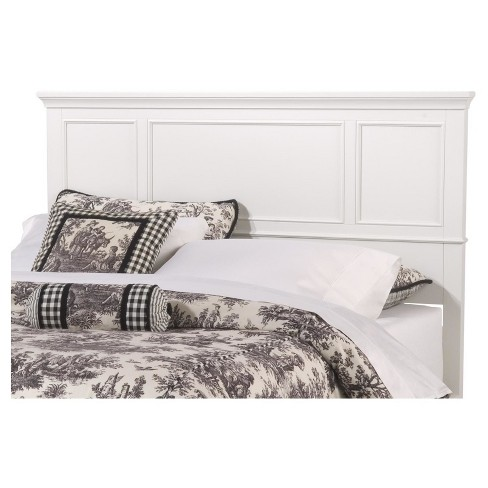 Naples Headboard Off White (Full/Queen) - Home Styles : Target