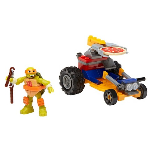 Mega Bloks Teenage Mutant Ninja Turtles Mikey's Pizza Racer - image 1 of 11