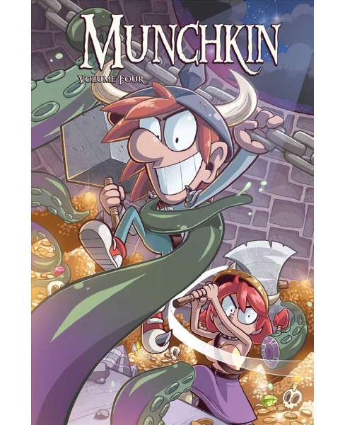 Munchkin 5 (Paperback) (Sam Sykes & Will Hindmarch & Katie Cook) - image 1 of 1