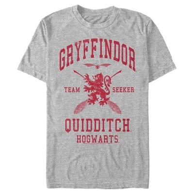 Men's Harry Potter Gryffindor Quidditch Team Seeker T-Shirt