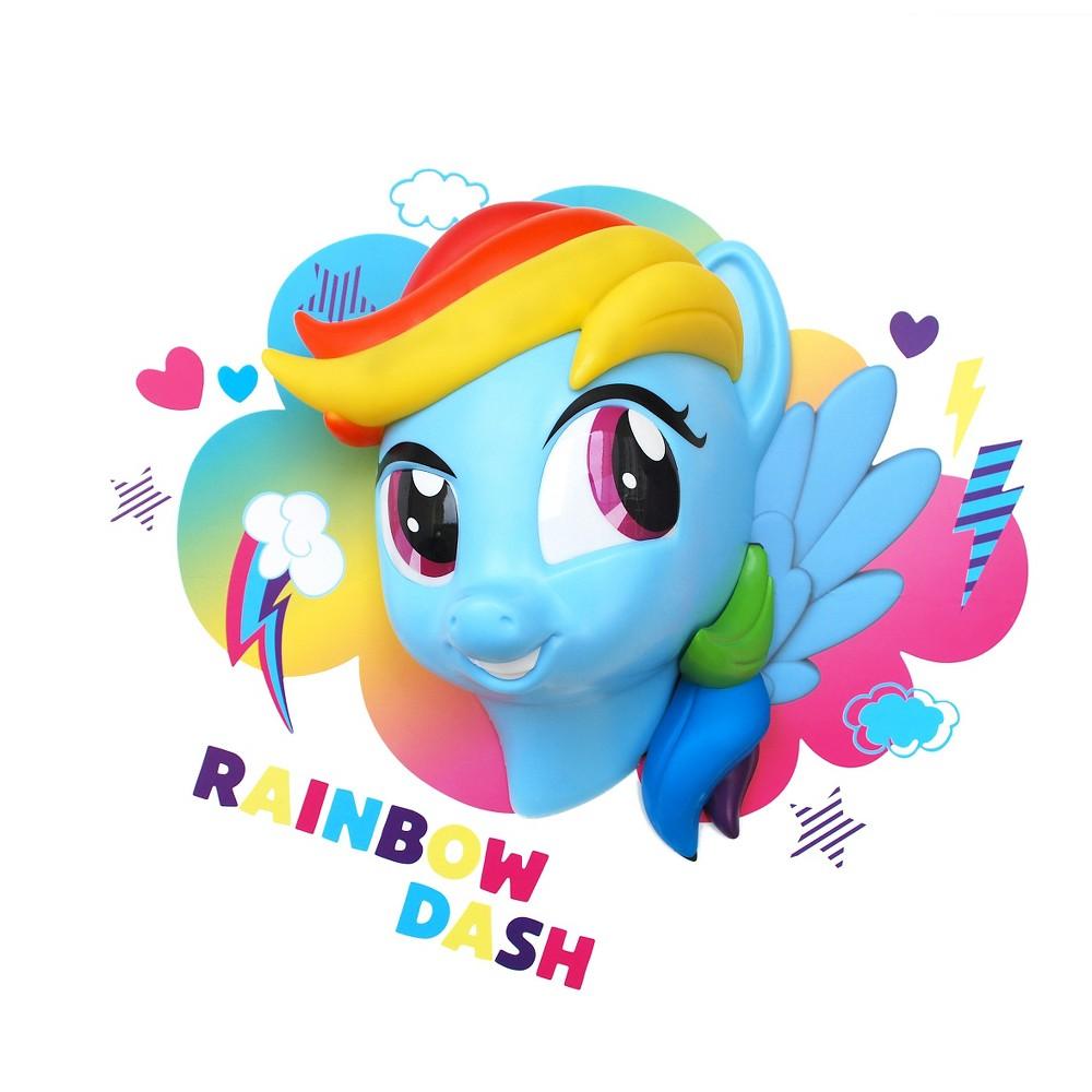 Image of 3D Led Light FX My Little Pony Rainbow Dash Night Led Light, Red