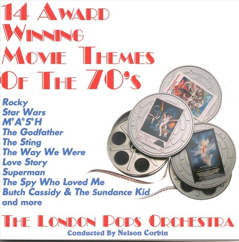 London pops orchestr - Award winning movie themes:70s (CD) - image 1 of 1