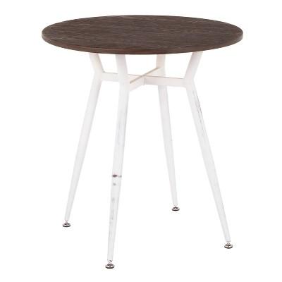 Clara Industrial Round Dinette Table - LumiSource
