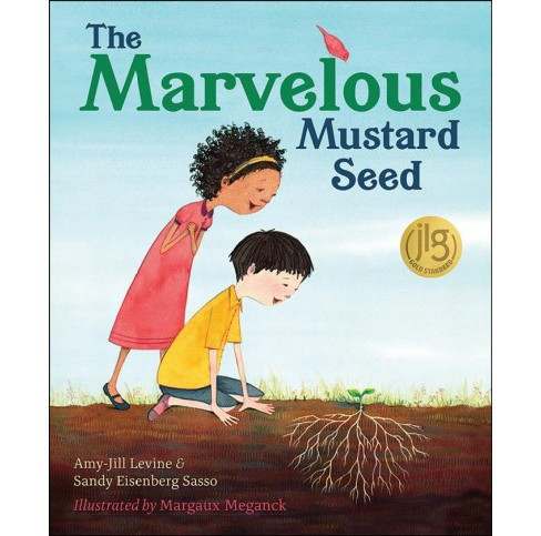 Marvelous Mustard Seed -  by Amy-Jill Levine & Sandy Eisenberg Sasso (Hardcover) - image 1 of 1