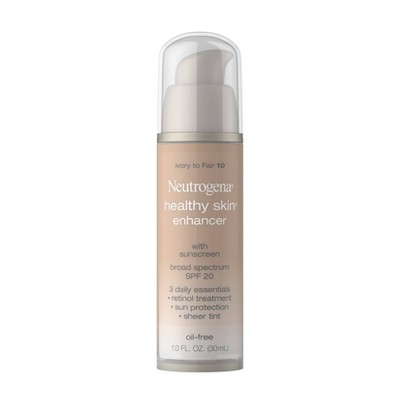 Neutrogena Healthy Skin Enhancer Sheer Face Tint with Retinol & Broad Spectrum SPF 20 - 1 fl oz