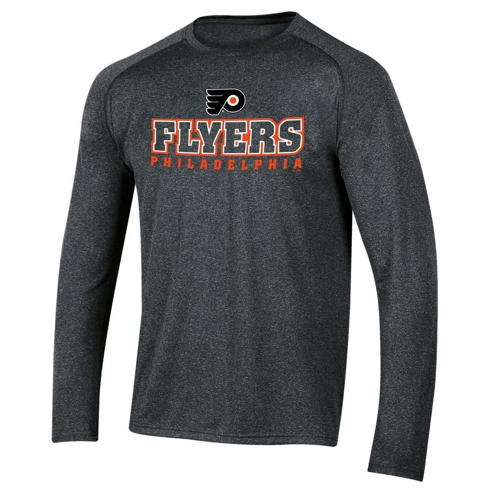 Philadelphia Flyers Men's Goal Scorer Long Sleeve Performance T-Shirt M, Multicolored