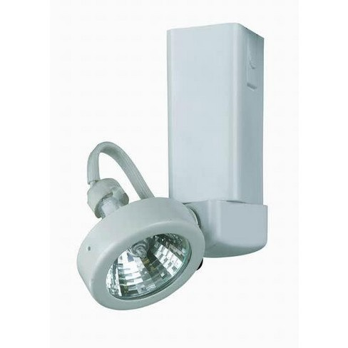 Cal Lighting Ht 949 1 Light Round System Track Fixture Frosted White