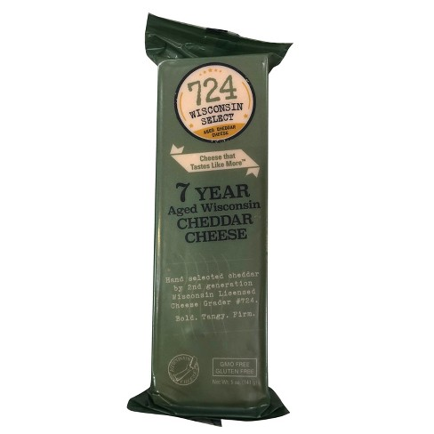724 Wisconsin Select 7 Year Aged Wisconsin Cheddar Cheese - 5oz - image 1 of 1