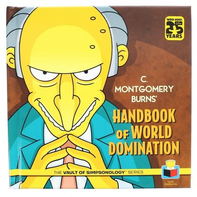 Nerd Block The Simpsons: C. Montgomery Burns' Handbook of World Domination