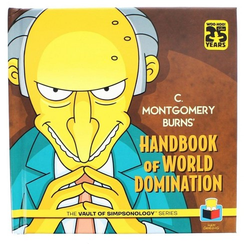 Nerd Block The Simpsons: C. Montgomery Burns' Handbook of World Domination - image 1 of 2