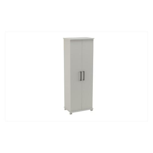 Catalonia 1.0 Mobile Shoe Closet White - Manhattan Comfort - image 1 of 4