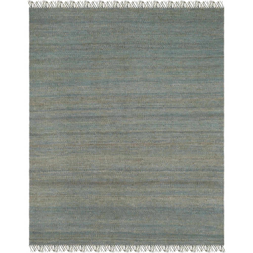 8'X10' Solid Woven Area Rug Blue - Safavieh
