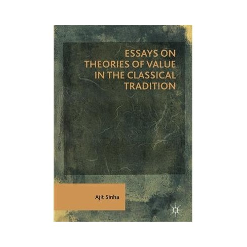 Essays On Theories Of Value In The Classical... : Target