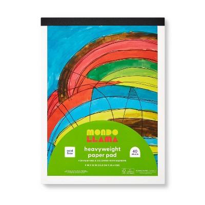 "9""x12"" Heavyweight Painting & Marker Paper Pad - Mondo Llama™"