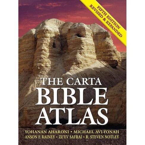 The Carta Bible Atlas - 5 Edition (Hardcover) - image 1 of 1
