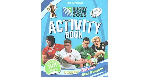 Official IRB Rugby World Cup 2015 Activity Book (Paperback) (Tasha Percy) - image 1 of 1