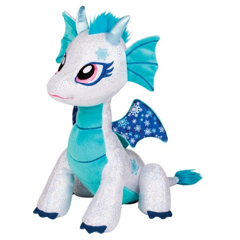 Glitter Shine Dragon Shimmer Frost Plush Toy - image 1 of 2