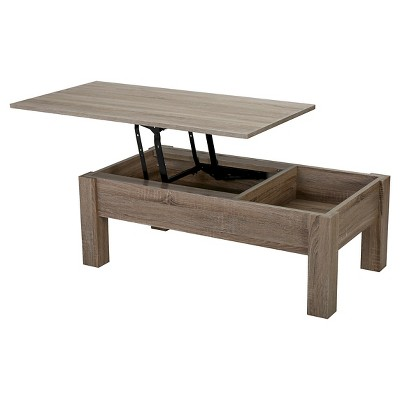 Lift Single Top Functional Coffee Table Sonoma Tan - Christopher Knight Home