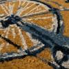 """18"""" x 30"""" Bicycle Outdoor Doormat - Threshold™ - image 4 of 4"""