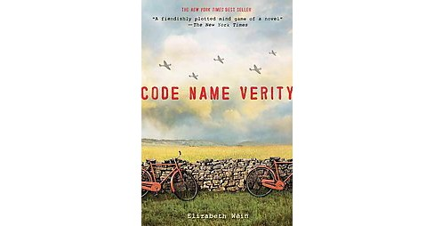 Code Name Verity (Reprint) (Paperback) by Elizabeth Wein - image 1 of 1