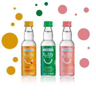 SodaStream 3pk Tropical Thrill Variety Bubly Drops