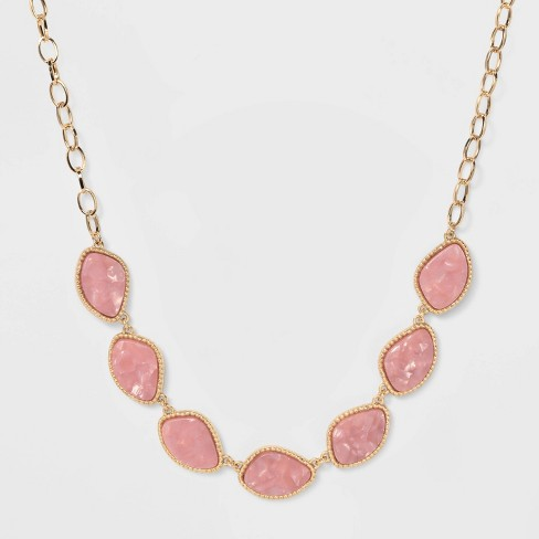 SUGARFIX by BaubleBar Lustrous Resin Statement Necklace - image 1 of 3