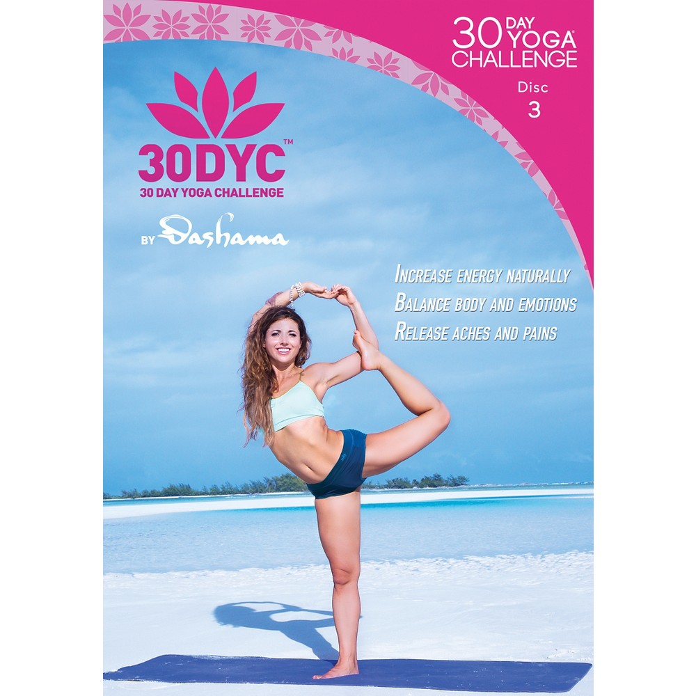 30dyc:30 Day Yoga Challenge With Dash (Dvd)