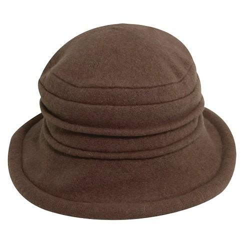 4d1d4191a05 Scala™ Collezione Women s Cloche Hats - Walnut   Target