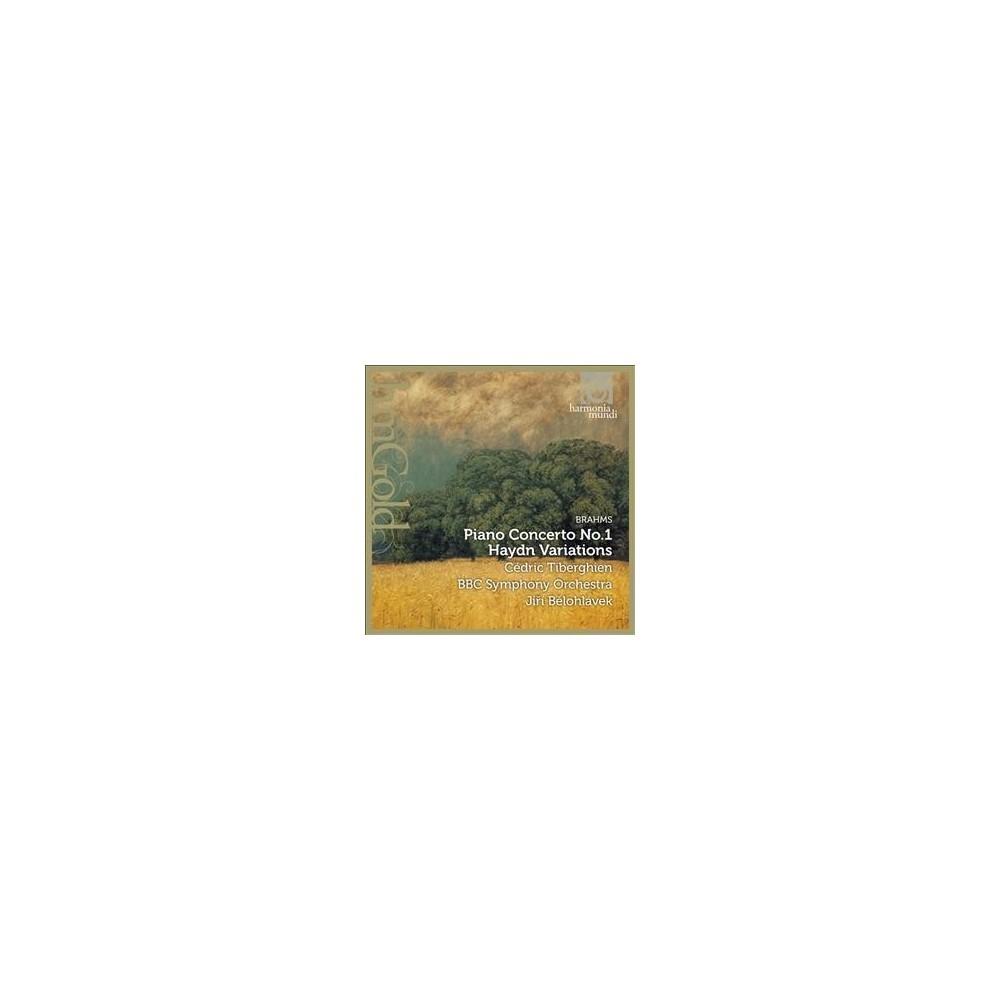 Cedric Tiberghien - Brahms/Haydn:Piano Concerto No 1/Vari (CD)