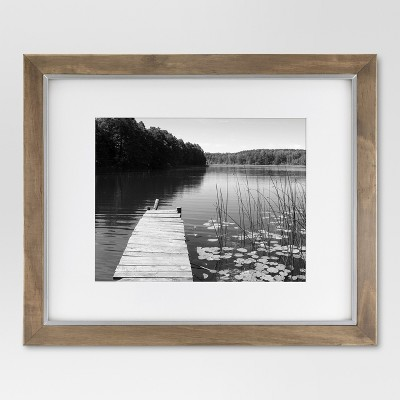 11  x 14  Single Picture Frame Brown - Threshold™