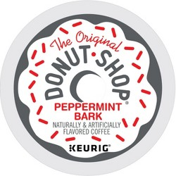 The Original Donut Shop Peppermint Bark Light Roast Coffee Keurig K-Cup Pods - 18ct