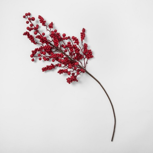 Faux Stem Red Berry - Threshold™ - image 1 of 2