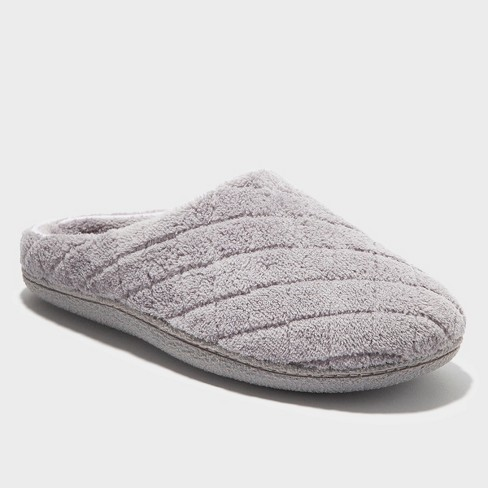 a6f741f3f Women s Dearfoams Quilted Memory Foam Clog Slipper   Target
