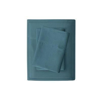 Twin 3M Microcell Moisture Wicking Sheet Set Teal