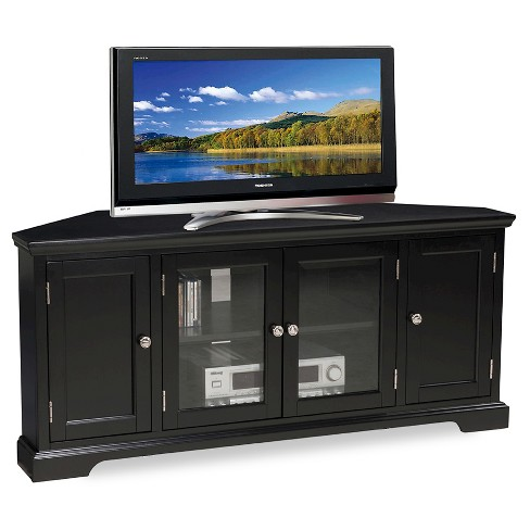 56 Corner Tv Stand Black Leick Home Target