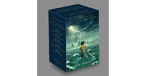 Percy Jackson & The Olympians (School And Library) (Rick Riordan) - image 1 of 1