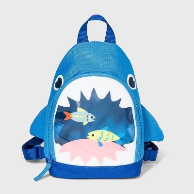 Boys' Shark Mouth Backpack - Cat & Jack™ Blue