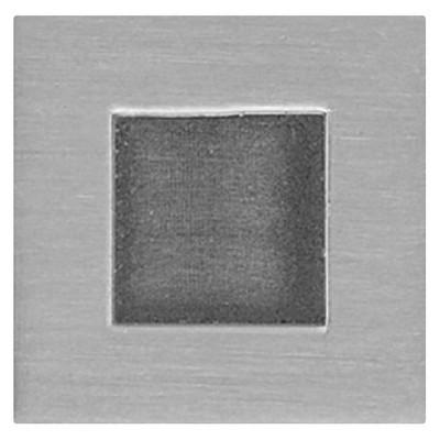 Sumner Street Home Hardware 0.625 4pc Knob Satin Nickel Rhombus Cube
