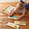 Melissa & Doug See & Spell Wooden Educational Toy With 8 Double-Sided Spelling Boards and 64 Letters - image 2 of 4
