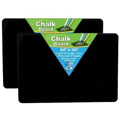 """2pk 24"""" x 36"""" Chalk Board - Flipside"""