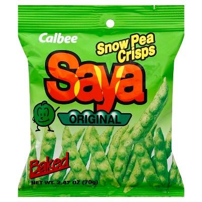 Veggie & Grain Chips: Calbee Snow Pea Crisps