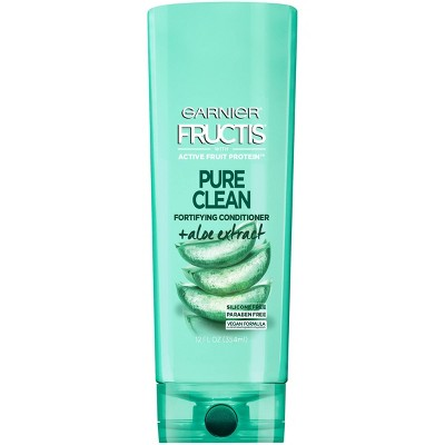 Garnier Fructis with Active Fruit Protein Pure Clean Fortifying Conditioner with Aloe Extract - 12 fl oz