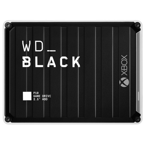 Western Digital P10 Game Drive for Xbox One 3TB - Black - image 1 of 4