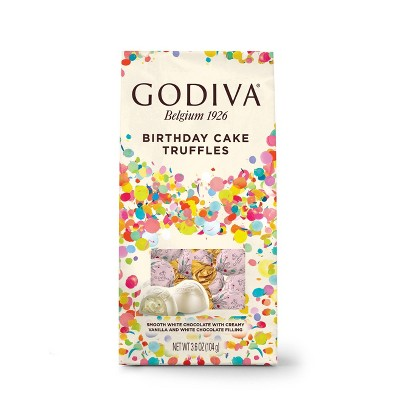 Godiva Limited Edition Birthday Cake Truffles - 3.6oz
