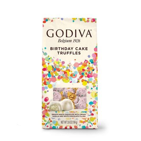 Godiva Limited Edition Birthday Cake Truffles - 3.6oz - image 1 of 3