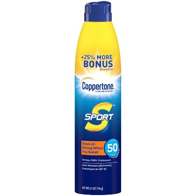 Coppertone Sport Spray - SPF 50 - 6.9oz